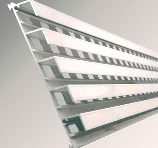 Rejillas de aluminio
