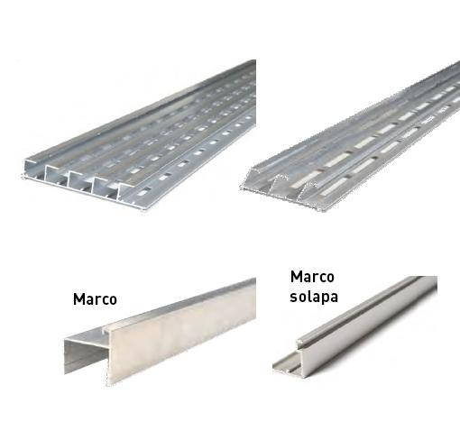 Vierteaguas de Aluminio