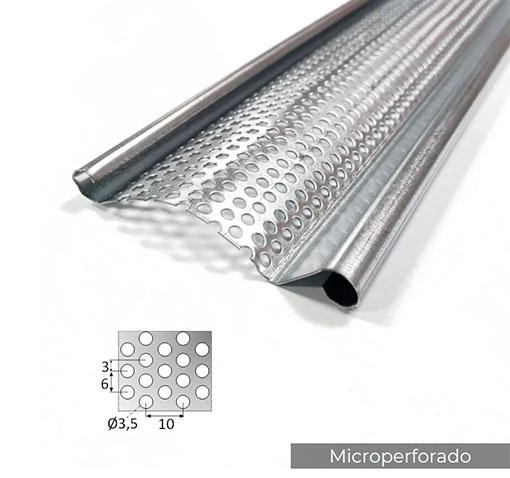 Lama Curva Microperforada