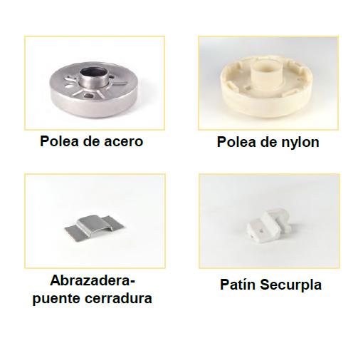 Persianas accesorios