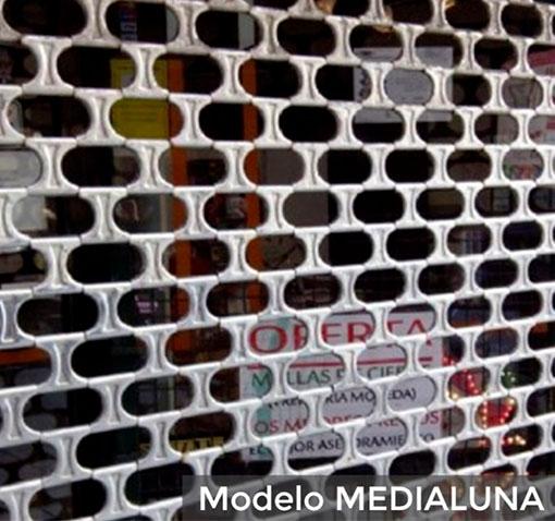 Persiana de componentes Modelo MEDIALUNA | Cierres del Hogar